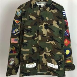 6e663f9cf491b Off-White Jackets & Coats | M65 Offwhite Camo Jacket | Poshmark